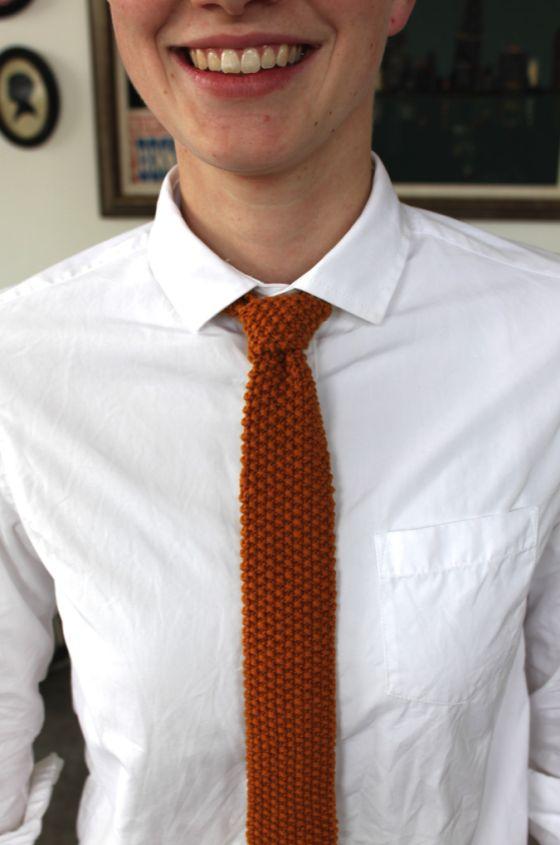 Versatile Knit Tie | AllFreeKnitting.com