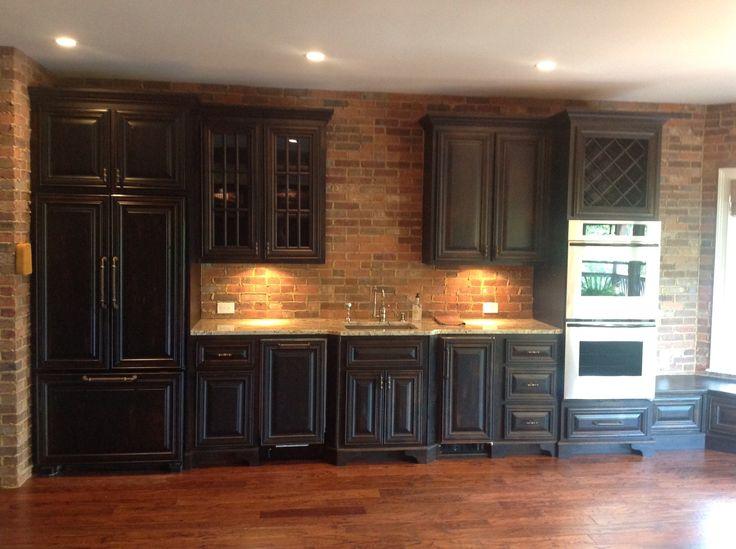 Basement Kitchen In Johns Creek Ga Ga Custom Cabinets