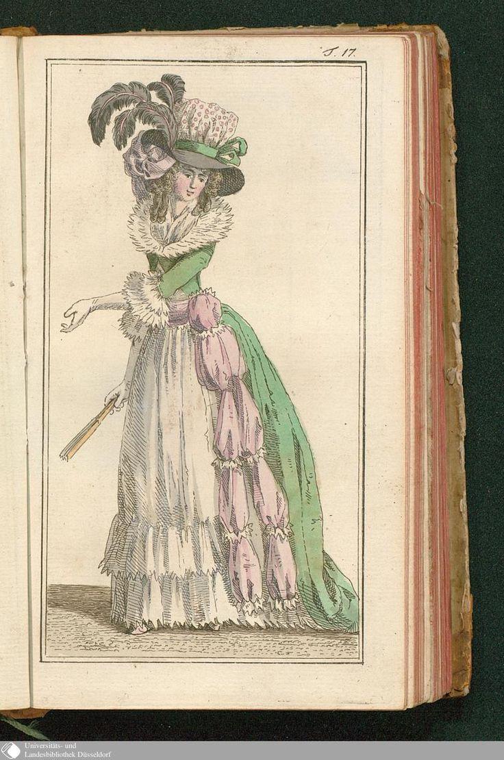 Journal des Luxus und der Moden, Tafel 17, June 1788.
