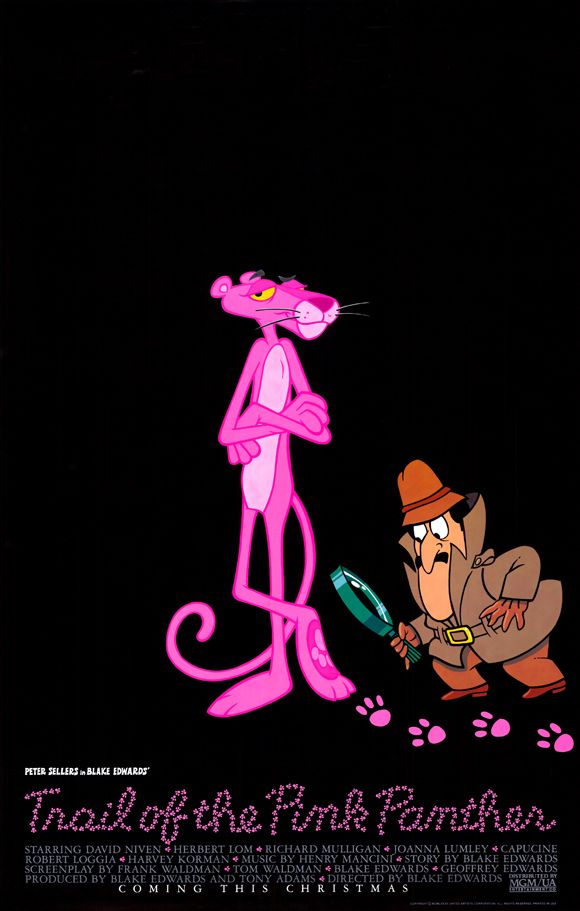 Trail of the Pink Panther , starring Peter Sellers, David Niven, Herbert Lom, Richard Mulligan. The Pink Panther diamond is stolen once again from Lugash and the authorities call in Chief Inspector Clouseau from France... #Comedy #Crime