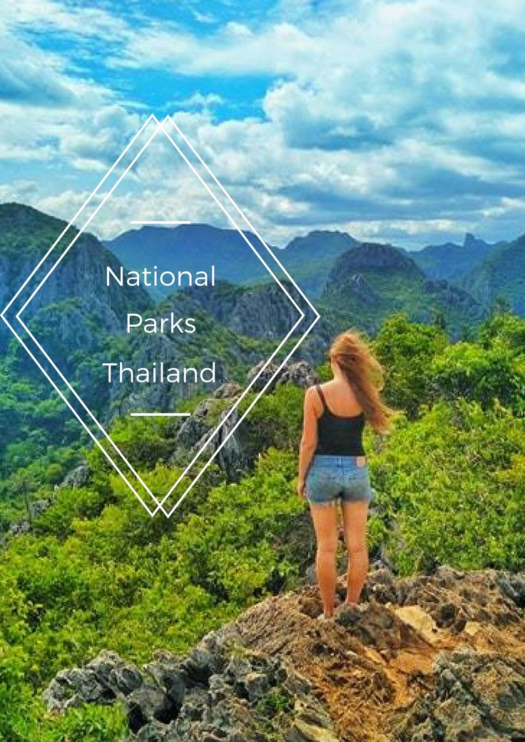Discover National Parks in Thailand: Visit off the beaten path National Parks to see wildlife, beaches, nature, waterfalls for hiking and trekking