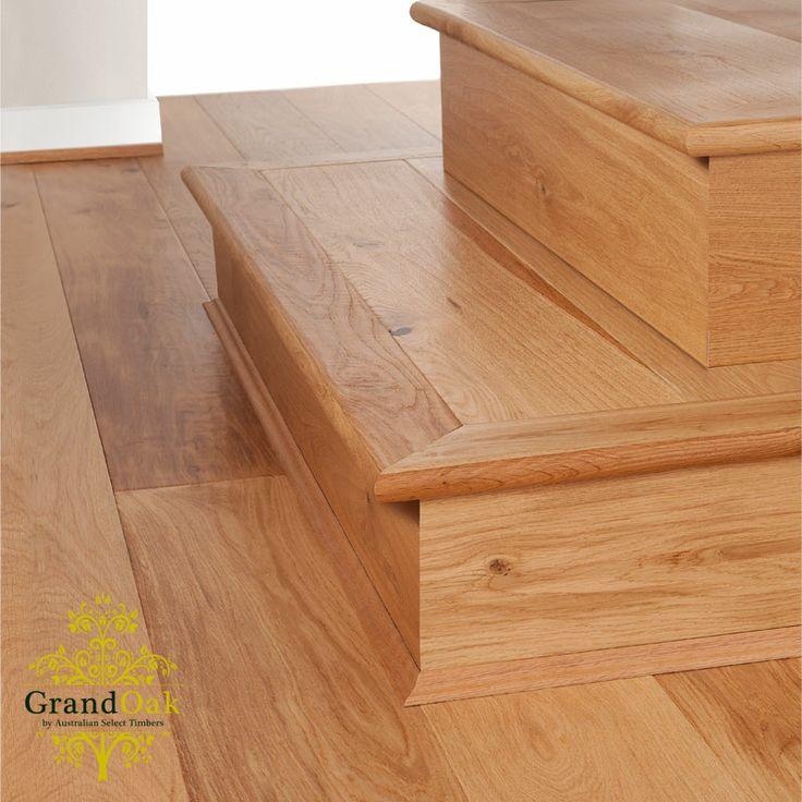 European Oak Stair Nosing HD