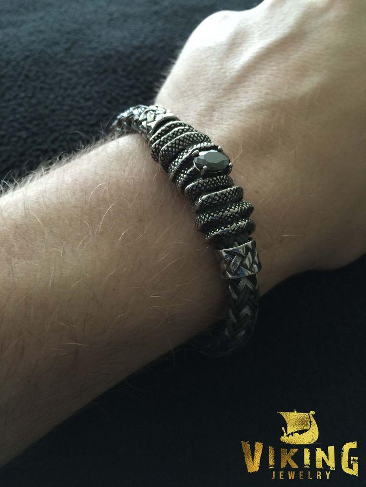 Braided Viking Steel Bracelet (B006) - Viking Merch