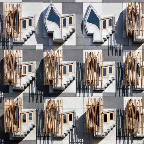 AD Classics: The Scottish Parliament / Enric Miralles | ArchDaily
