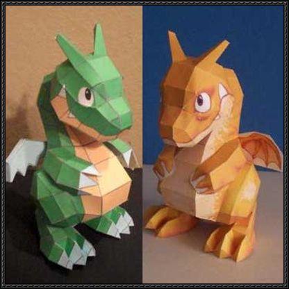 Pepakura Designer/Viewer Mascot Pepakura Dragon Free Papercraft Download - http://www.papercraftsquare.com/pepakura-designerviewer-mascot-pepakura-dragon-free-papercraft-download.html