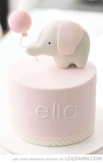 Brielle and Ellie first birthday theme idea? Her favorite stuffed elephant that plays lullaby's we named Ellie. Male an elephant cake topper for her little cake with a big sparkly '1'