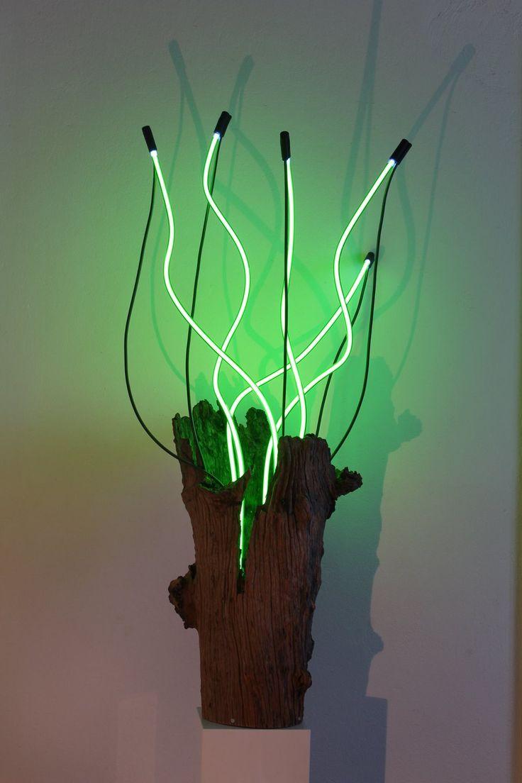 29 best contemporary neon art images on Pinterest | Neon, Neon ... for Light Installation Art Indoor  174mzq