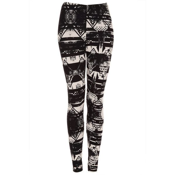 Tall Aztec Print Leggings ($40) ❤ liked on Polyvore