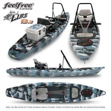 2015 Feelfree Lure 13.5 Fishing Kayak-Stand Up Fishing