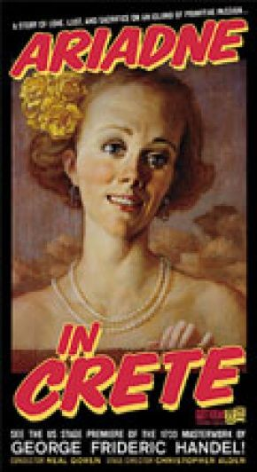 John Currin gave us this image especially for our poster of Ariadne in Crete.