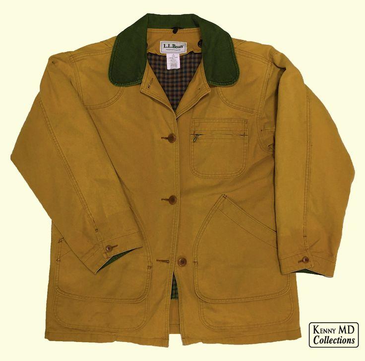 LL Bean's Original Field Coat with PrimaLoft Liner.