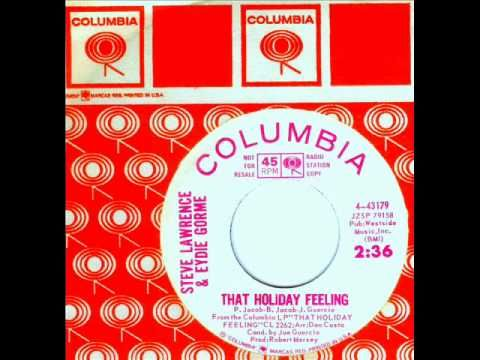 Steve and Eydie - That Holiday Feeling 1964