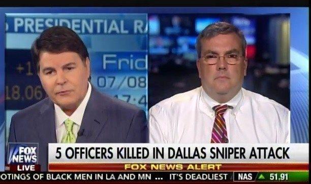 "Top Police Association Chief Blames Obama Admin After Dallas Massacre: ""It's a War on Cops"" (VIDEO)  Jim Hoft Jul 8th, 2016"