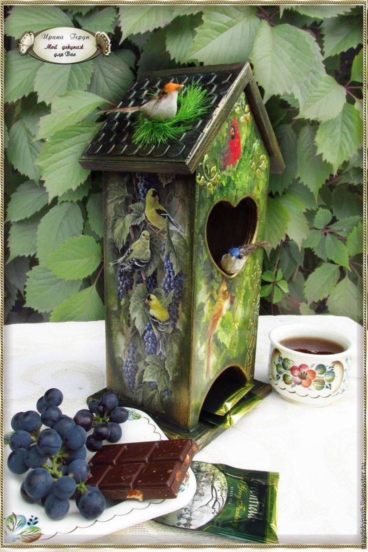 Делаем чайный домик «Райский сад» - Ярмарка Мастеров - ручная работа, handmade