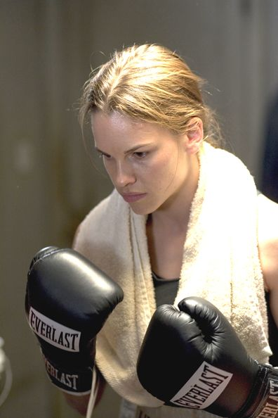 Hilary Ann Swank is an American film actress. She has won the Academy Award for Best Actress twice, as Brandon Teena in Boys Don't Cry (1999) and as struggling waitress-turned-boxer Maggie Fitzgerald in Million Dollar Baby (2004). Remember, she also starred in The Next Karate Kid.