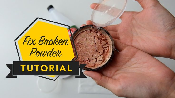 Fix Broken Powder Tutorial So, I dropped and broke my OFRA highlighter. This is step by step tutorial on how I fixed it.