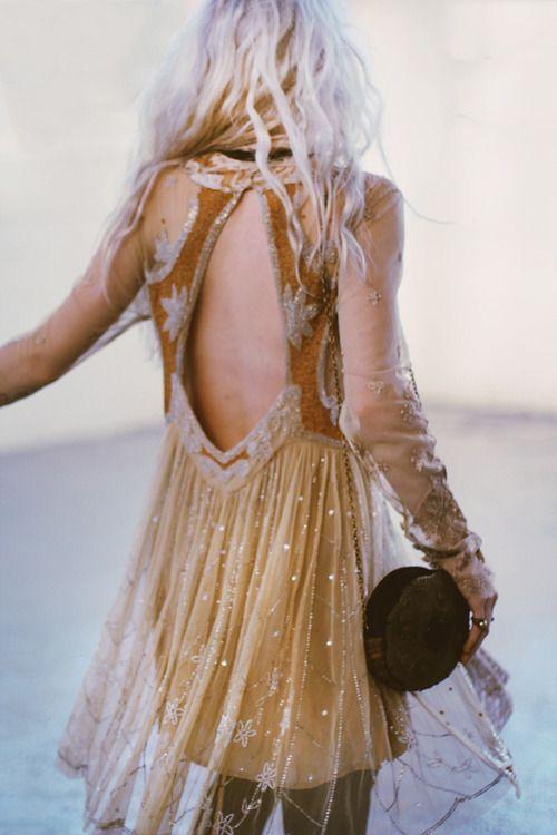 bohemianfashionstyle: somerollingstone: Limited Edition Gemma's Holiday Dress from Free People Bohemianfashionstyle