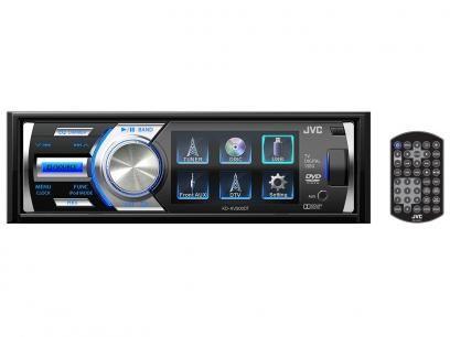 """DVD Automotivo JVC KD-AV500DT Tela 3"""" - com Entrada USB e Auxiliar Frontal e TV Digital com as melhores condições você encontra no Magazine Eraldoivanaskasj. Confira!"""
