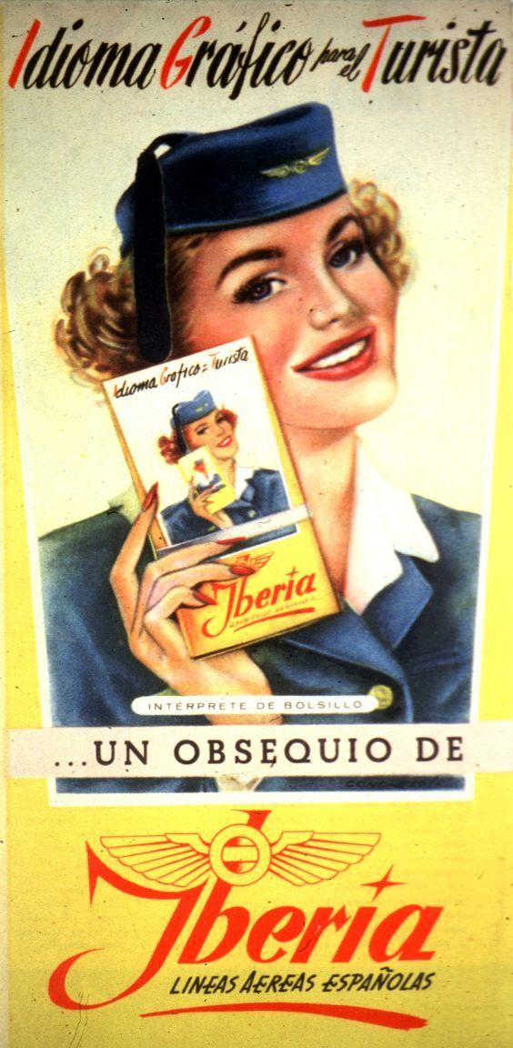 Iberia-Lineas Aereas Espananolas poster