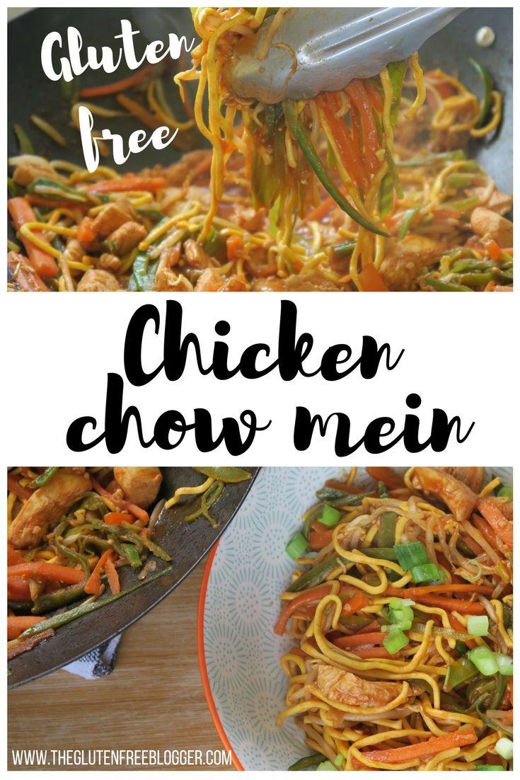 The Easy Gluten Free Chicken Chow Mein Recipe You Have To Try Gluten Free Chinese Gluten Free Chinese Food Gluten Free Dairy Free Recipes