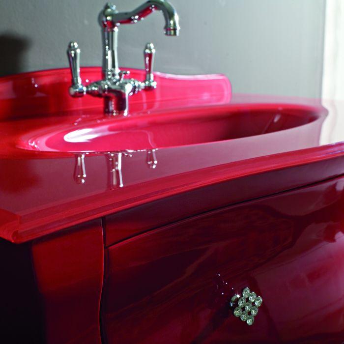 Plan Vasque En Verre 110 Cm Pour Meuble Retro Bellagio Lasa Idea Vasque En Verre Plan Vasque Vasque