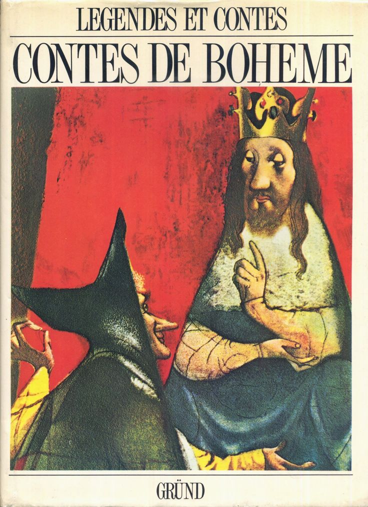 Jiri Trnka - Contes De Bohême, Jiri Trnka, Gründ Légendes et Contes de Tous les Pays (c) 1971 rééd., album grand format cartonné toilé avec jaquette.