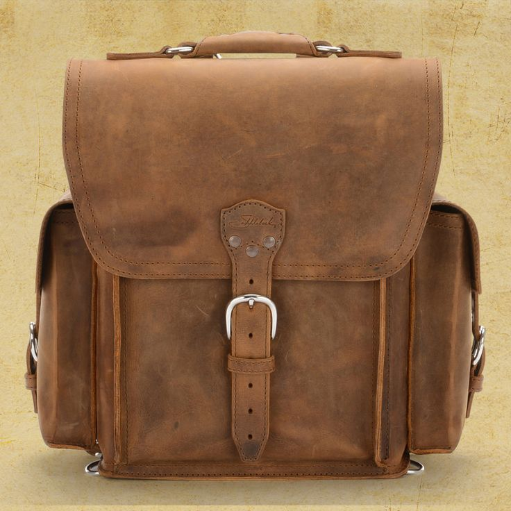 The Squared Backpack by Saddleback in tobacco is my dream ... Saddleback Leather