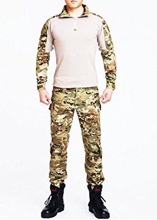 Esercito Commando Camouflage rana passt Camouflage pantaloni Tactical morbida respirare resistente all' usura giacca + pantalone Jungle Camouflage Uniform CP camo s