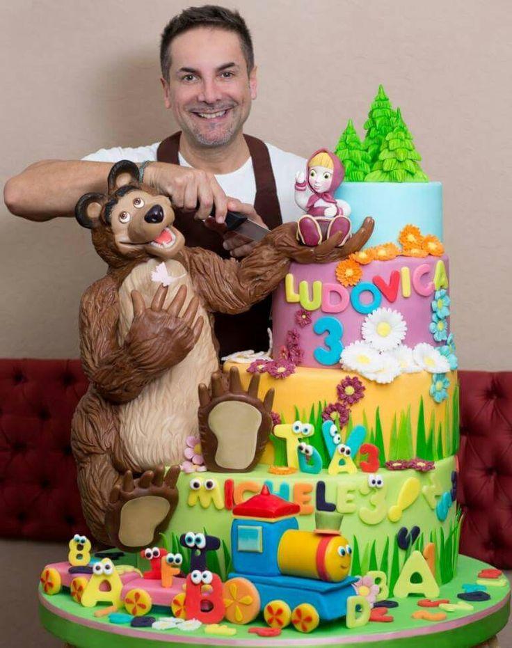 Corsi Cake Design Renato : Masha e Orso by Renato Cake design baby Pinterest