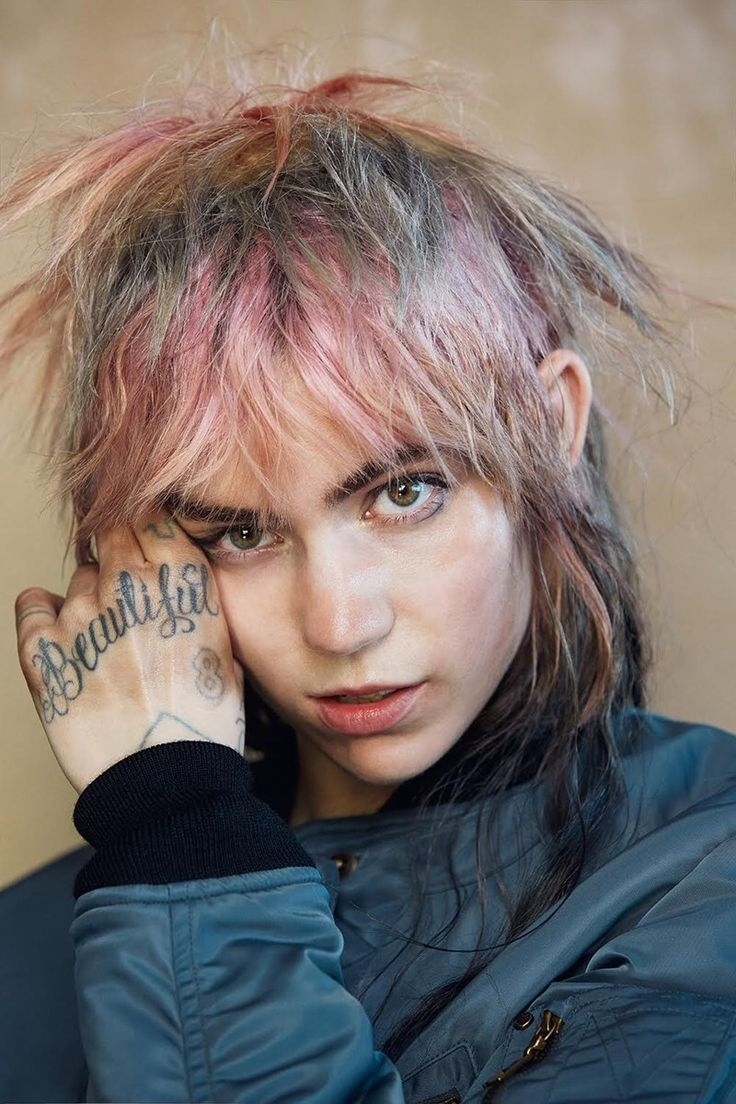 mywaitisu:   Grimes for Dazed Magazine wearing... - welcome, ghosts