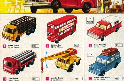 Old Fashioned Matchbox Cars Case