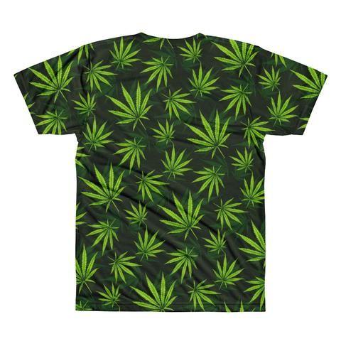 LA Supply  Co Weed Leaf Crewneck T-shirt