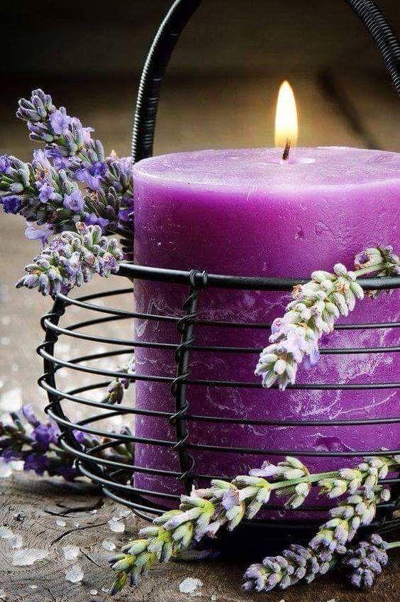 beautiful.quenalbertini: Purple candle | Ana Rosa