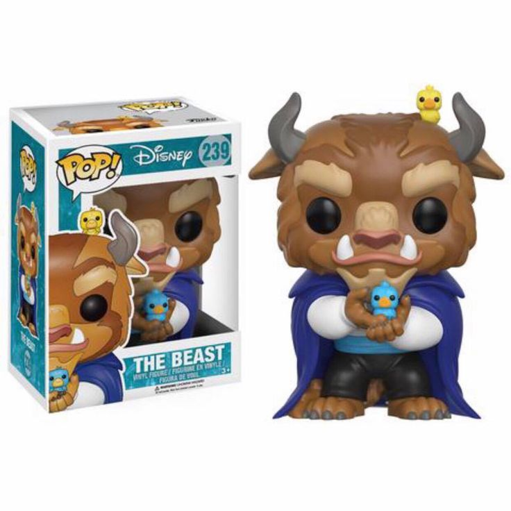 The Beast Funko Pop Vinyl figure from Disney classic Beauty and the Beast Brought to you by Pop In A Box, the site Funko Pop! Vinyl shop