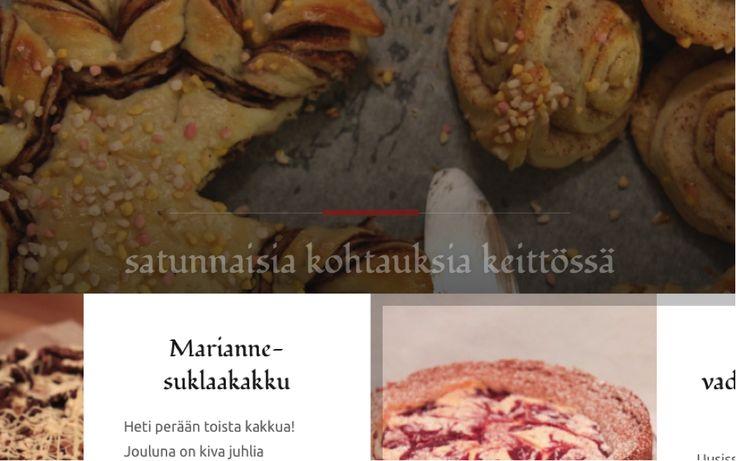WWW | #roosante - kohtauksia keittiössä on blogini, joka keskittyy tällä hetkellä pääasiassa ruokaohjeisiin. Sisältöä tulossa ajan mittaan!