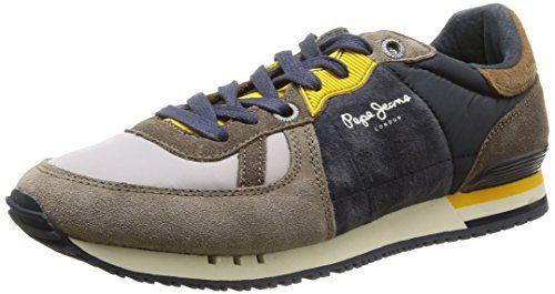 Pepe Jeans London Tinker Sock, Herren Sneakers, Grau (936gravel), 41 EU - http://on-line-kaufen.de/pepe-jeans/41-eu-pepe-jeans-london-tinker-sock-herren