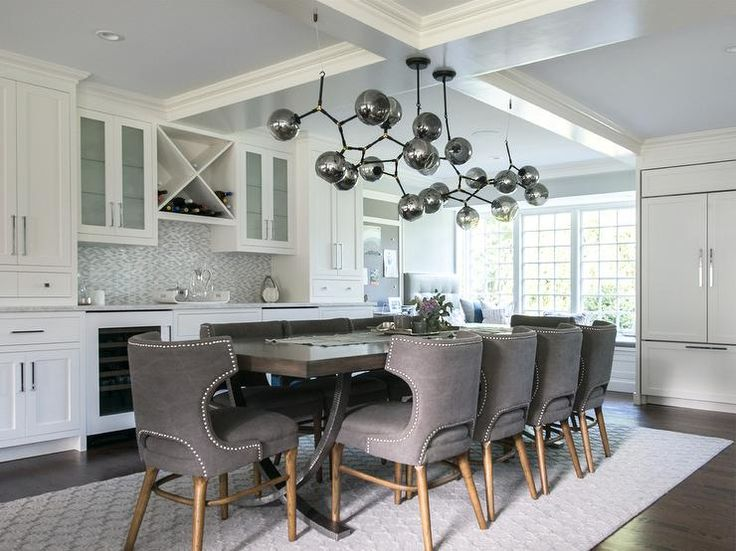 405 best images about Dining Rooms on Pinterest | Gray dining ...