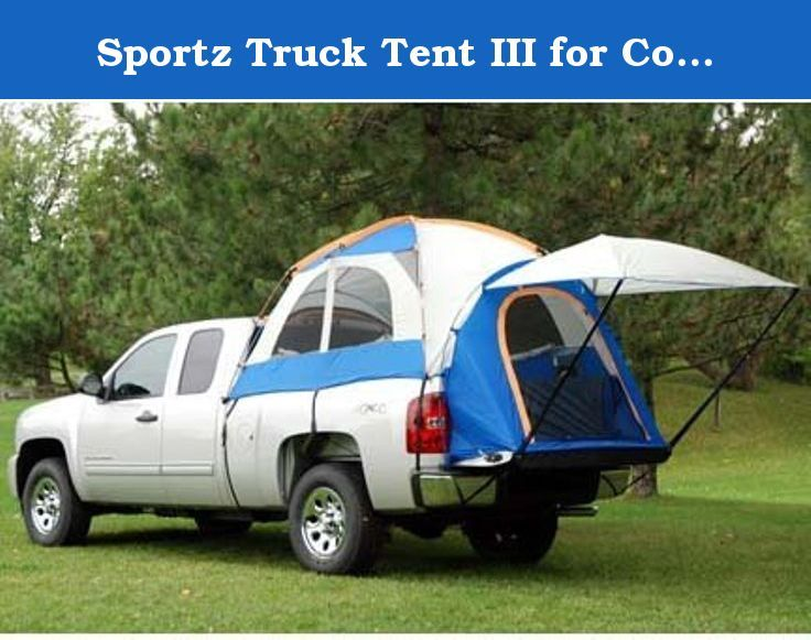 Sportz Truck Tent III for Compact Short Bed Trucks (for Ford Ranger Model). Why camp in an ordinary ground tent or an expensive RV, when you can camp right in the back of your truck. The Sportz Truck Tent assembles in the back of your open-bed pickup, creating a comfortable, restful sleeping area for two people. With seven models to fit almost every truck on the market, itÕs no wonder why the Sportz Truck Tent is the market leader. Discover how a Sportz Truck Tent adds convenience and...