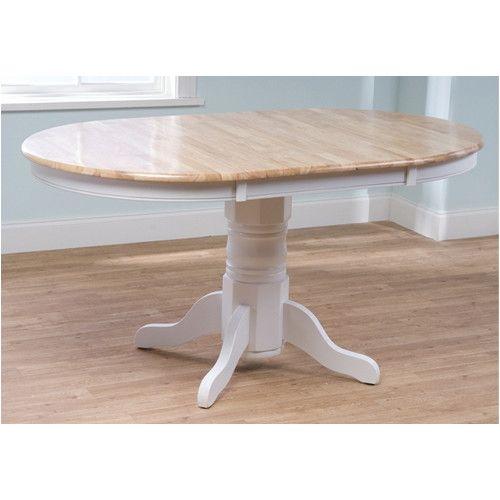 found it at wayfair leonora extendable dining table runde tischeovale esstischeesstisch podestausziehbarer - Erweiterbar Runden Podest Esstisch