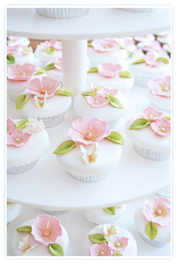 Cupcakes de boda... ¿Por qué disfruto tantísimo con esto?