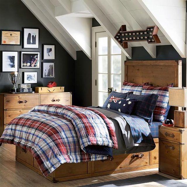 10 dormitorios geniales para chicos, con literas y sin ellas · 10 teen rooms for boys (& some genius bunk beds)