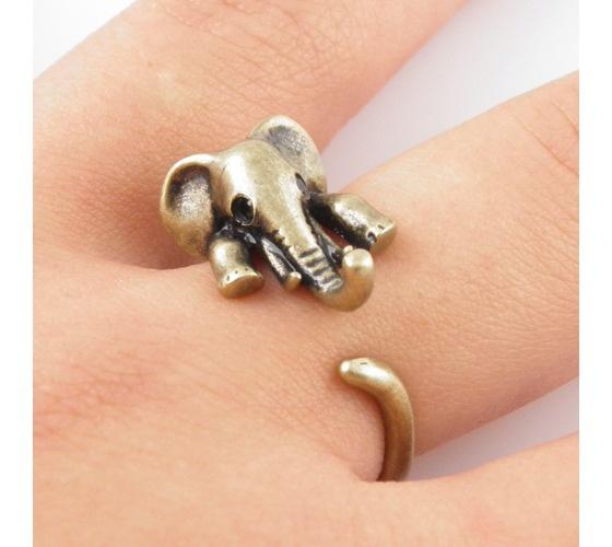 Elephant wrap ring <3