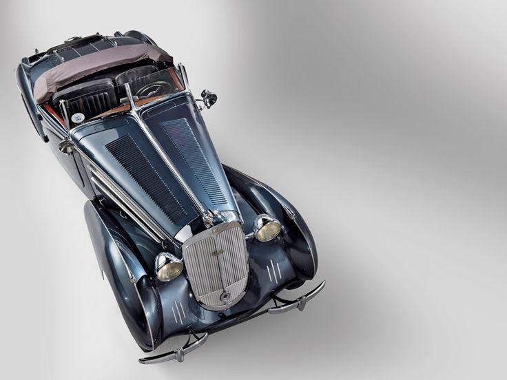 1937 Horch 853A Sportroadster: 853A Sportroadst, Classic Autos, Classic Cars, Classic Automobile, Classic Riding, Autos Wheels, 1937 Horch, Automobile 1930 1949, Horch 853A