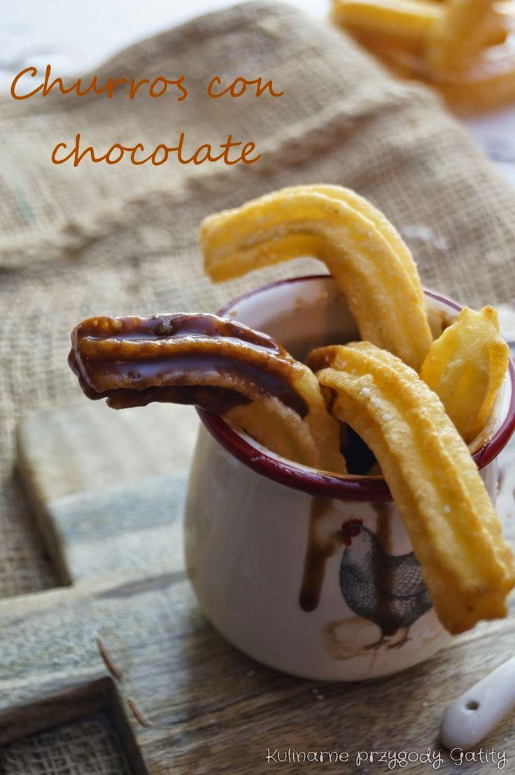Kulinarne przygody Gatity: Churros con chocolate