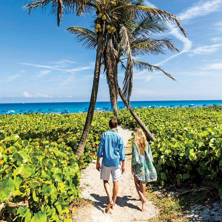 America's Happiest Seaside Towns 2015: Delray Beach, Florida. Talk about a place that has its priorities in order: At the heart of this fun-loving city of 61,231 are two miles of gloriously white-sand public beach. Photo: Robbie Caponetto. Coastalliving.com