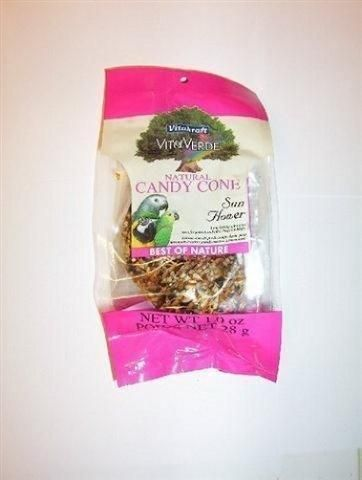 Sun Seed Company Natural Candy Cone Sunflower Treat 1 oz