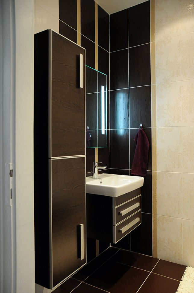 Interior with a limited budget. Bathroom / Geddes-Kaňka Interiors.