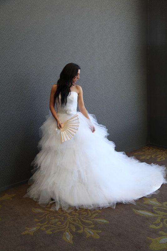 Wedding Dress Ivory Princess Bridal