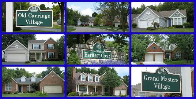 Heritage Green Patio Home Community Of Loveland Ohio. Another Pool  Community! Over 150 Patio