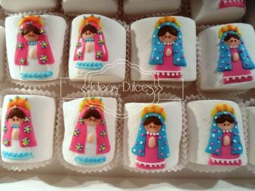 Masmelos decorados Virgencita Plis